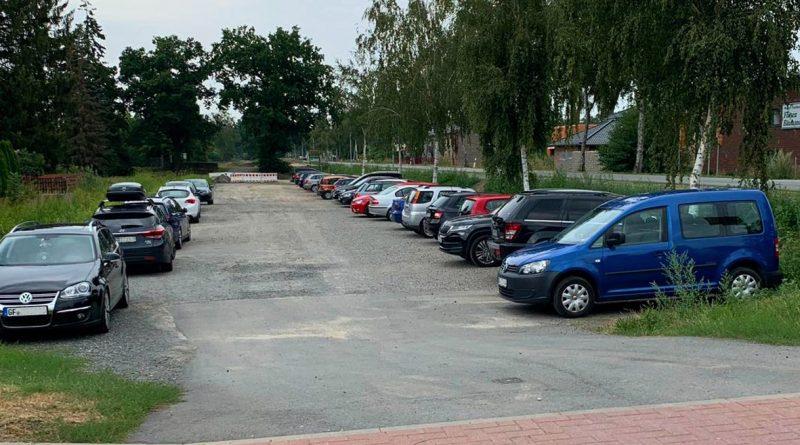 Parkplatz Mittelpunkt