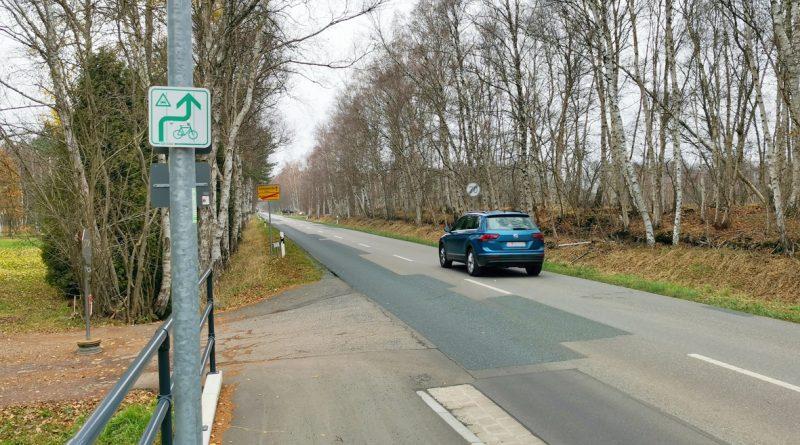 Verlängerung Radweg