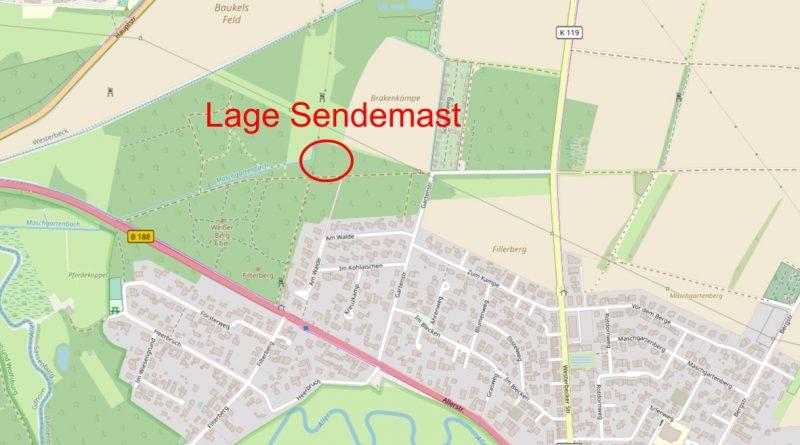 Sendemast Dannenbüttel