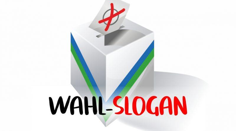 Wahl-Slogan