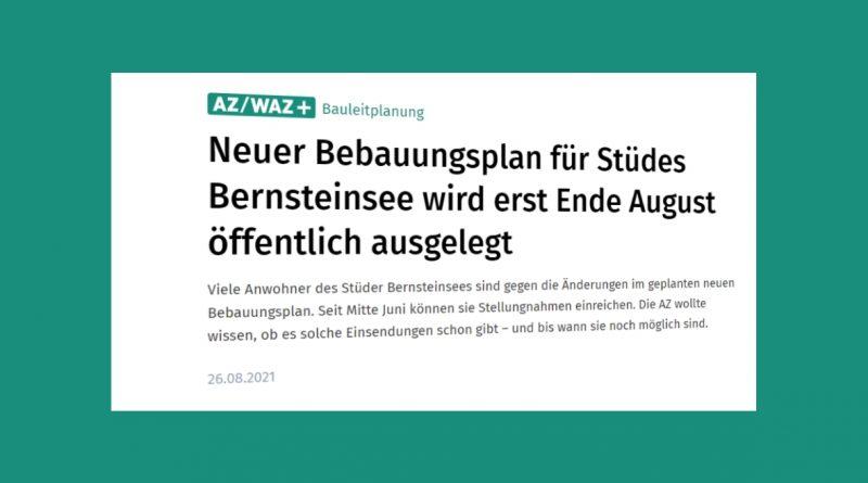 AZ Bericht Bernsteinsee