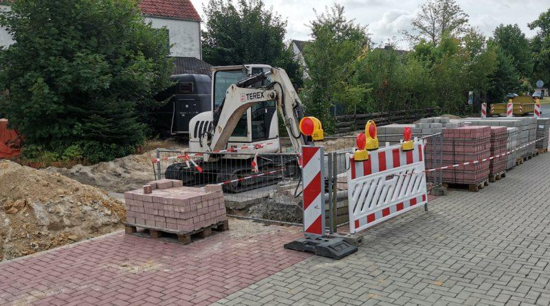 Baustelle Steingartenstraße